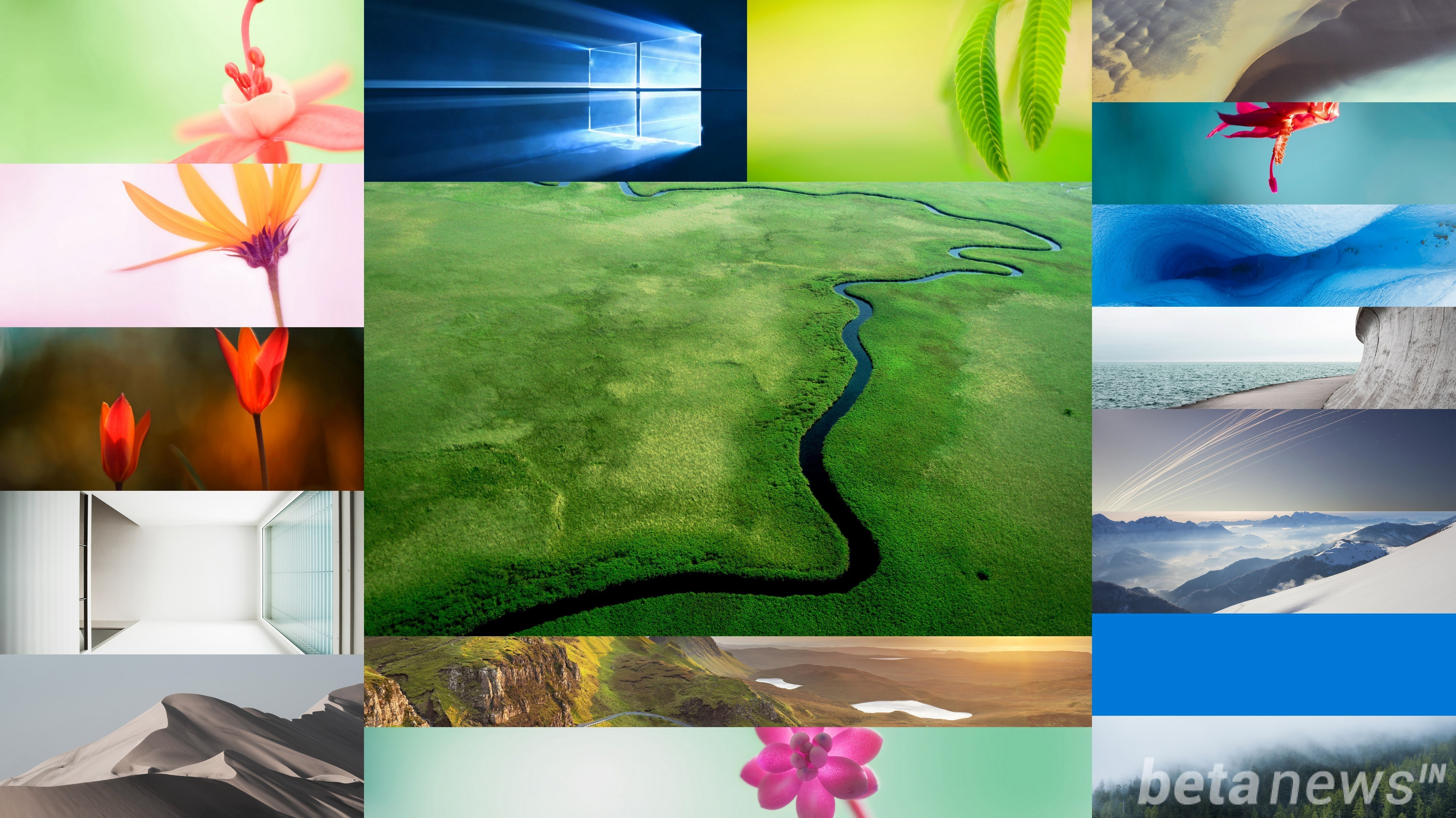 Download Windows 10 Wallpapers Pack (18 Win 10 Wallpapers)