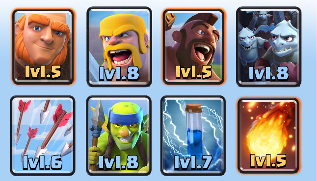 Best Clash Royale Deck (Arena 6, 7, 8) | Updated
