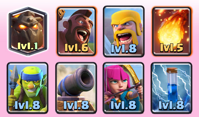 Best clash royale deck arena 6 7 8 updated for Clash royale deck molosse