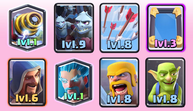 clash royale arena 8 decks images of hearts