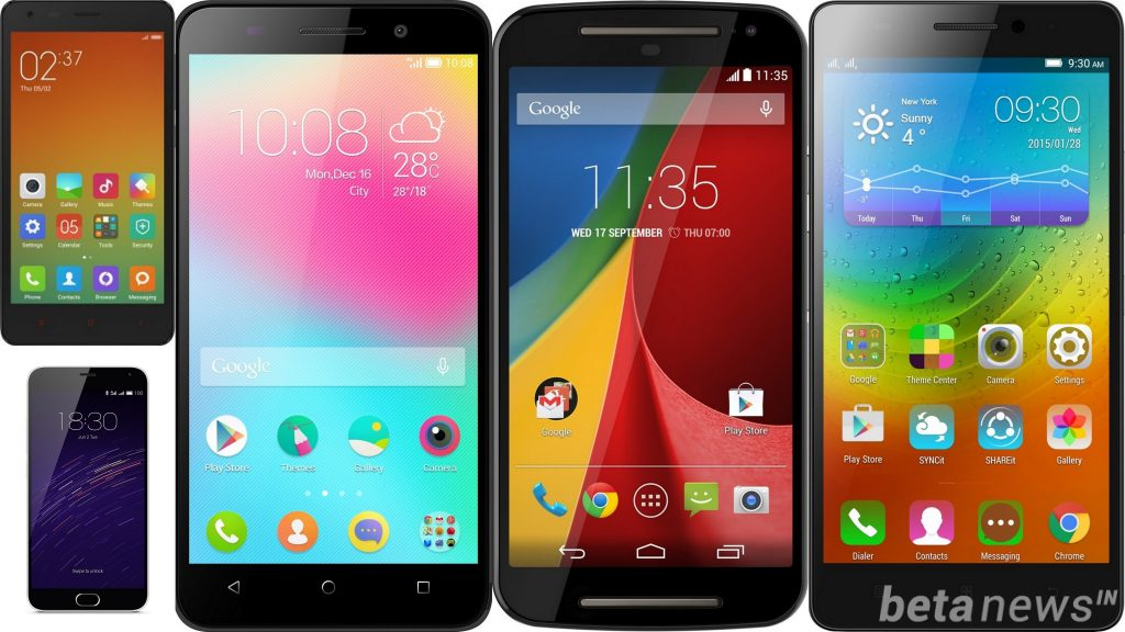 thought android phones under 10000 in india 2013 the software front