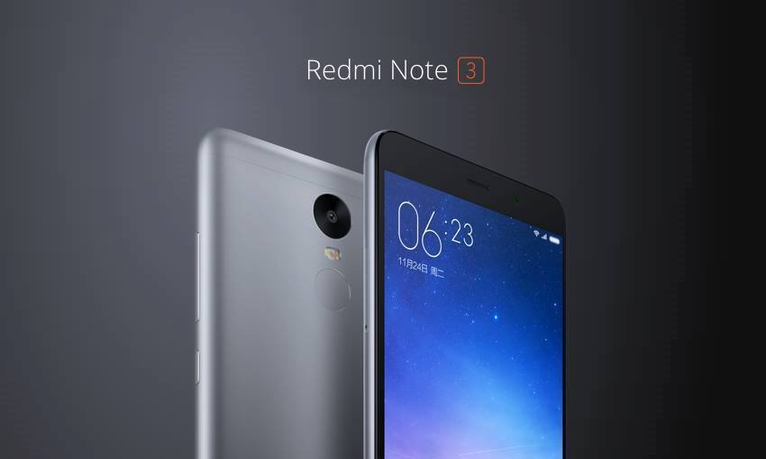 Redmi Note 3 Launched With 4000 MAh Battery And 5.5 Inch
