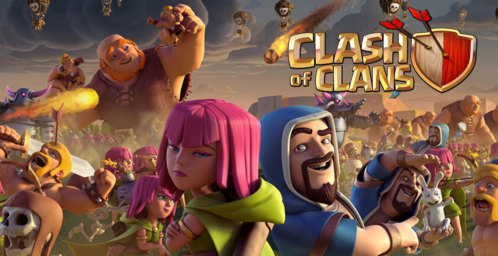 apk clash of clans update