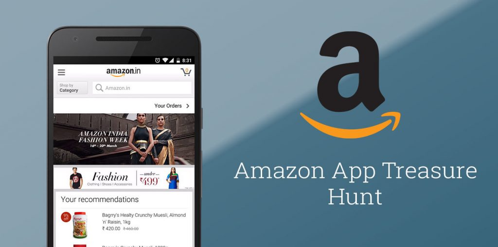 Amazon Treasure Hunt Answers -10th March 2016 - Deal Ended