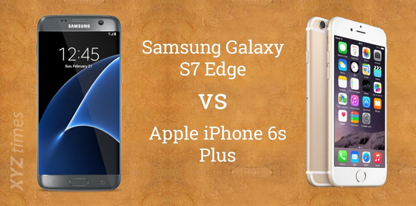 iphone 6s eller samsung galaxy s7 edge