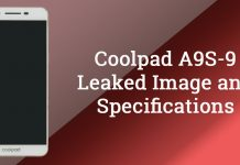 Coolpad a9s 9 leaked specs image