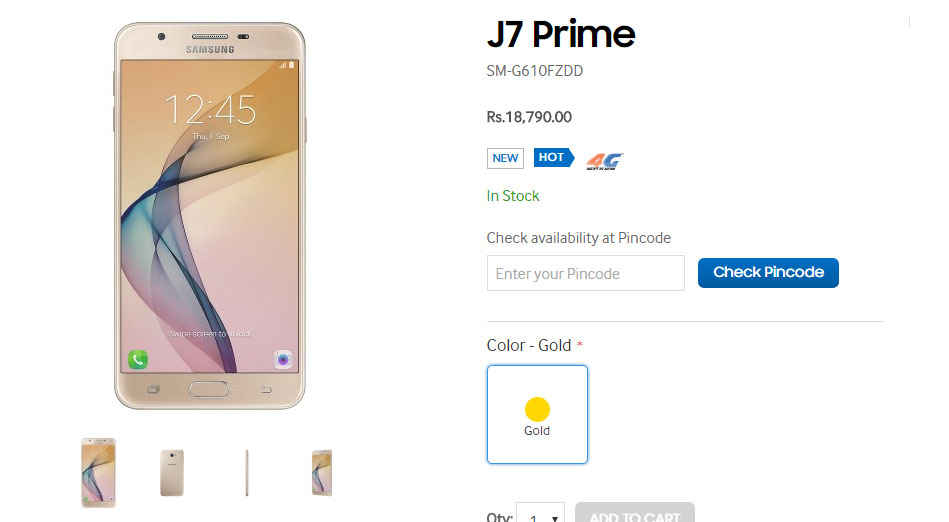 Samsung Galaxy J5 Prime and J7 Prime Launched in India