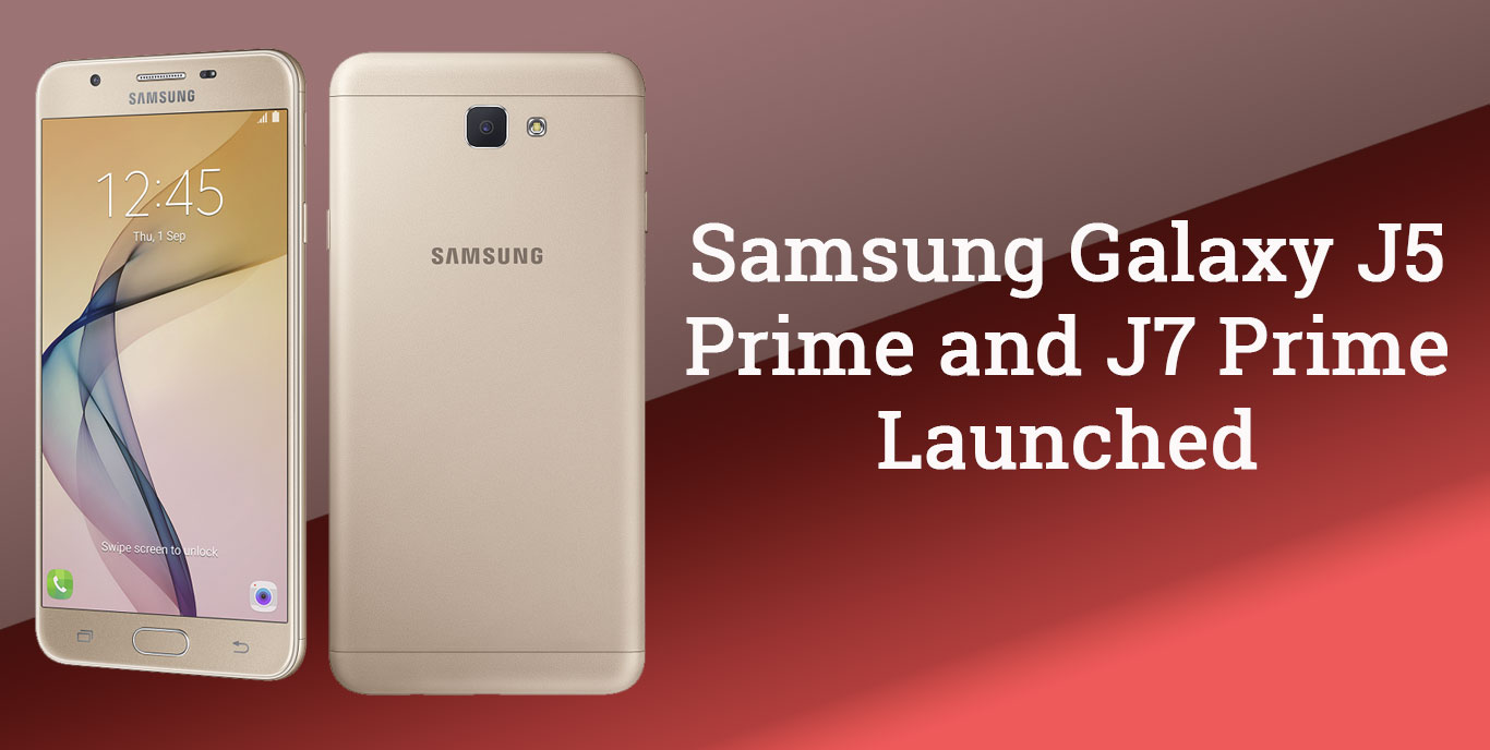 Samsung Galaxy J5 Prime And J7 Launched In India Price Specs 16 Gb Gold