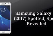 Galaxy j7 2017 specs