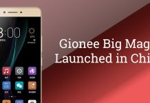 Gionee big magic china