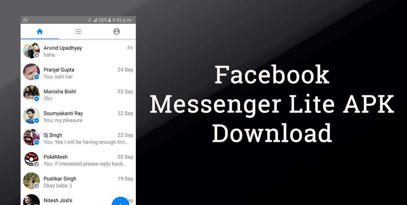 download facebook messenger apk old version