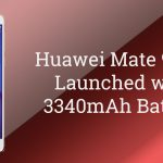 Huawei Mate 9 Lite Launched with 3340mAh Battery and 4GB RAM